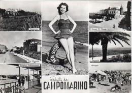 MOLISE-CAMPOBASSO-CAMPOMARINO VIA FAVORITA VEDUTE MULTIPLE SALUTI DA - Italie