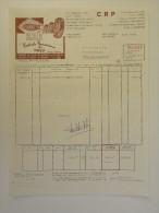 Facture Invoice 1971 Centrale Renaisienne Du Pneu Ronse Renaix Banden - Transports