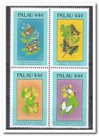 Palau 1988, Postfris MNH, Flowers, Butterflies - Palau