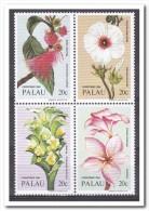 Palau 1984, Postfris MNH, Flowers, Christmas - Palau