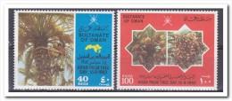 Oman 1982, Postfris MNH, Trees - Oman