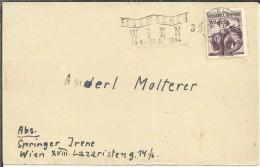 AUSTRIA WIEN 1954 FESTWOCHEN - Fiestas