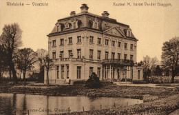 BELGIQUE - FLANDRE OCCIDENTALE - WIELSBEKE - Voorzicht - Kasteel M,baron Vander Bruggen. - Wielsbeke