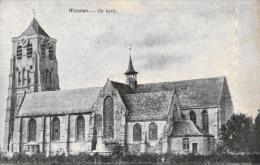 BELGIQUE - FLANDRE OCCIDENTALE - DIXMUDE - DIKSMUIDE - WOUMEN - De Kerke. - Diksmuide