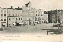1898/1905 - FREISTADT, Hauptplatz,  2 Scans - Freistadt