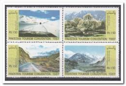 Pakistan 1987, Postfris MNH, Tourism, Mountains, Trees - Pakistan