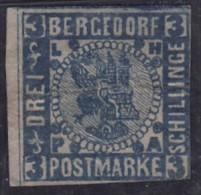 Bergedorf 3 Sh Bleu Sur Rose - Bergedorf