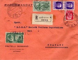 ITALIA  Storia Postale  Regno  Espresso Lire 1,25  + Complementari - Italia