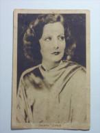Greta Garbo. Cinema. Actress. Damaged On Front. - Acteurs