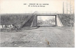 CIRCUIT DE LA SARTHE 1906 - 20 - La Sortie De VIBRAYE - Voiture - Vibraye