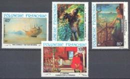 Polynésie Française Poste Aérienne YT N°178/181 Peintures Du 20° Siècle Neuf/charnière * - Airmail