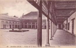 Morocco Marrakesh Palais de la Bahia Galerie et Cour d'Honneur