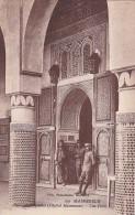 Morocco Marrakesh Palais De L'Aguedal Hopital Maisonnave Une Porte - Marrakesh