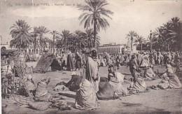 Algeria SScenes et Ypes Marche dans le Sud