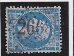 N° 22 - GC   2668    NOGENT LE ROTROU      (27)   EURE ET LOIR    - REF 9820 - Marcophilie (Timbres Détachés)