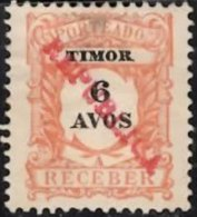 TIMOR 1913 Postage Due Republica 6a  Mint - Timor