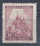 Germany (Bohmen Und Mahren) 1939/42  Freimarken; Prag / Praha (**) MNH  Mi.28 - Neufs