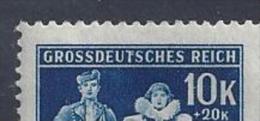 Germany (Bohmen Und Mahren) 1944  5 Jahre Der Protektorats  (**) MNH  Mi135 (PF 135 I) - Ocupación 1938 – 45