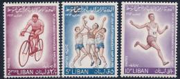 Lebanon, Scott # 415-7 Mint Hinged Sports, 1964 - Liban
