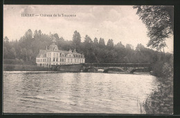 CPA Habay, Château De La Trapperie - Habay