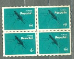 EGYPT - LABEL  -  Malaria - BLOCK 4 - SEE SCAN - Non Classificati