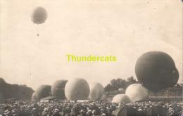 CARTE DE PHOTO GORDON BENETT BRUXELLES 1924 BALLON D'AIR ** FOTOKAART BRUSSEL LUCHBALLON - Montgolfières