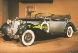 CP AUTOWORLD BRUSSELS BRUXELLES **  HORCH 1939 - Ansichtskarten