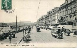 140   ROUEN - Le Quai De Paris (date 1908) - Rouen