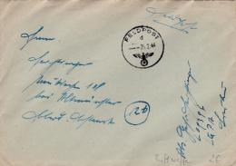 Feldpost WW2: From Khmelnitskij In Ukraine Serving Under Luftflotte 4 - 11. Kompanie Luftnachrichten-Regiment 4 FP L0939 - Militaria