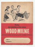 Protége Cahiers , WOOD-MILNE , Semelles , Verso : Table De Multiplication , 2 Scans , Frais Fr :1.50€