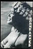 Cpm  Océanie Tahiti Bonne Année    AG15 11 - Tahiti