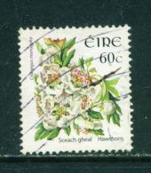 Wholesale/Bundleware  IRELAND  2004+ Flower Definitive  Hawthorn  60c  23x26mm  Used X 10  CV +/-  £8.50 - Gebraucht