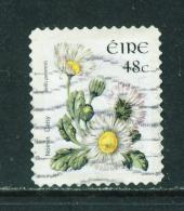 Wholesale/Bundleware  IRELAND  2004+ Flower Definitive  Daisy  48c  23x29mm  Self Adhesive  Used X 10  CV +/-  £7 - 1949-... Republik Irland
