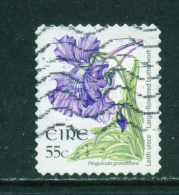 Wholesale/Bundleware  IRELAND  2004+ Flower Definitive  Butterwort  55c  23x29mm  Self Adhesive  Used X 10  CV +/-  &pou - 1949-... Republik Irland