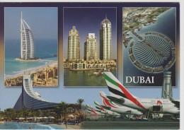 AKDX Dubai: Airplanes - Jumeriah Beach Hotel - Atlantis The Palm - Burj Al Arab - United Arab Emirates - Dubai