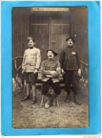 Guerre 14-18-prisonniers Français En ALLEMAGNE-infirmerie -gros Plan -les Infirmiers -chasseurs Alpins - Guerra 1914-18