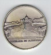 RedG - ANNO SANTO 1975 , Medaglia Commemorativa In Arg 800 Grammi 34,2. Basilica Di San Pietro - Italia