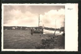 AK Lietzow, Segelschiffe Auf Einem See - Deutschland