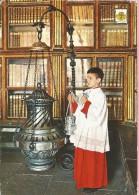 PP356 - POSTAL - SANTIAGO DE COMPOSTELA - CATEDRAL - EL BOTAFUMEIRO - La Coruña