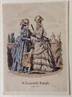 Il Tesoro Delle Famiglie 4 Stampe  Luglio 1873 Milano - Parigi- Stabilimenti Sonzogno - Moda