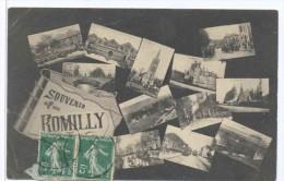 CPA Souvenir De Romilly Sur Andelle - Autres Communes