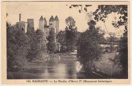 BARBASTE ....  LE MOULIN D´ HENRI IV - France