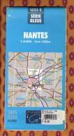 1 Carte Ign - Serie Bleue Nantes - Karten/Atlanten