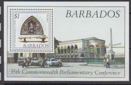 BARBADE   1989      BF  N°   27        COTE    2 € 50 - Barbades (...-1966)