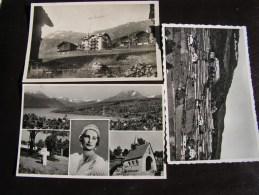 == CH Lot 3 Alte Karten , Hospithal Monhey,  La Sage , Küssnacht - Otros