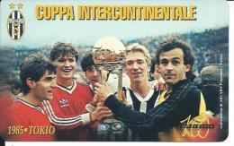 SCH201 - S. MARINO - COPPA INTERCONTINENTALE JUVENTUS - NUOVA - DA LIRE 3000 - San Marino