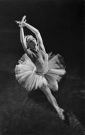 """03379 """"DANZA CLASSICA - UNIONE SOVIETICA - E. RYABINKINA - IL LAGO DEI CIGNI"""". FOTOCARTOLINA ORIGINALE. NON SPEDITA - Danza"""