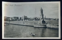 Cpa Egypte Port Said Panorama    AG15 9 - Port Said