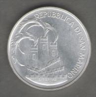 SAN MARINO 500 LIRE 1984 XXIII OLIMPIADE AG SILVER - San Marino