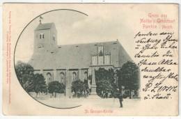 PARCHIM I. Mecklb. - Gruss Aus Moltke's Geburtsort - St. Georgen-Kirche - 1904 - Parchim